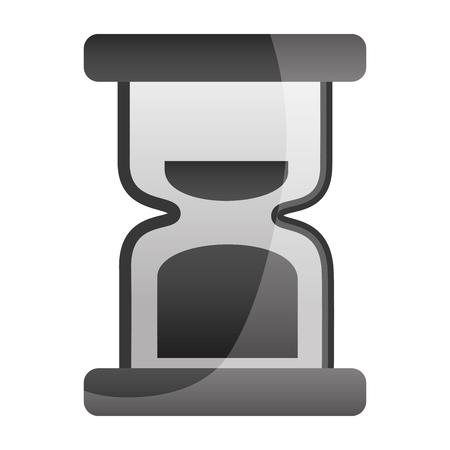 hour glass clock time image vector illustration  Illustration