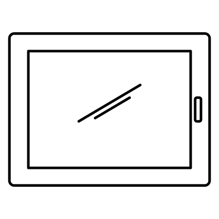 tablet device isolated icon vector illustration design 向量圖像