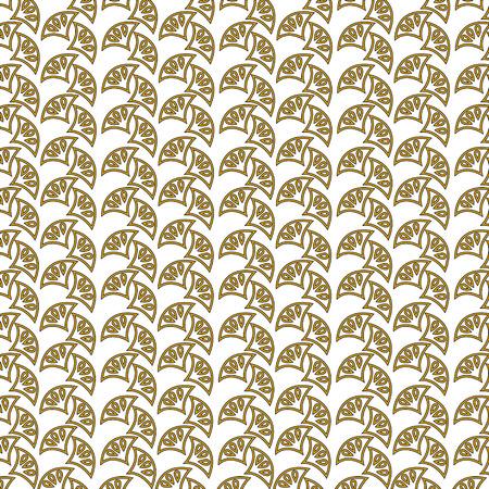 art deco pattern flourish ornament crest decorative Stockfoto - 101400917
