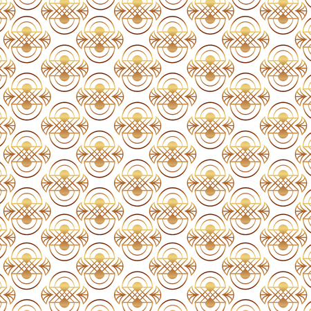 beauty scroll antique ornament style pattern vector illustration