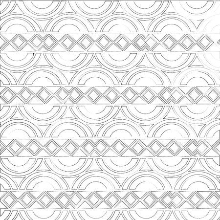 elegant pattern victorian style vector illustration design Standard-Bild - 101401276