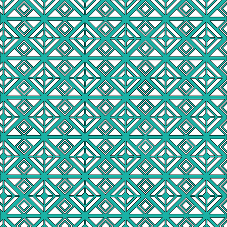 art deco background geometric adornment abstract vector illustration green