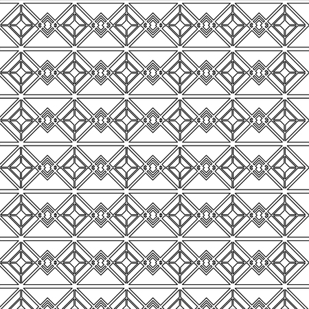 art deco background geometric adornment abstract vector illustration Ilustração