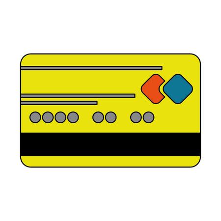 bank credit card business payment vector illustration vector illustration