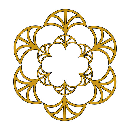 cover frame victorian style with floral shape vector illustration design 矢量图像