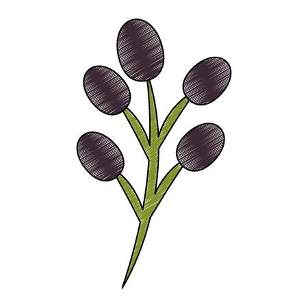 Leaf branch natural icon vector illustration design Reklamní fotografie - 101412000