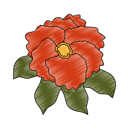 beautiful flower garden icon vector illustration design Ilustração