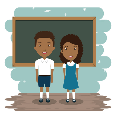students in the classroom characters vector illustration design Banque d'images - 101442690
