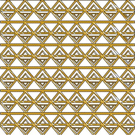 art deco decorative geometric abstract luxury pattern vector illustration Foto de archivo - 101450282