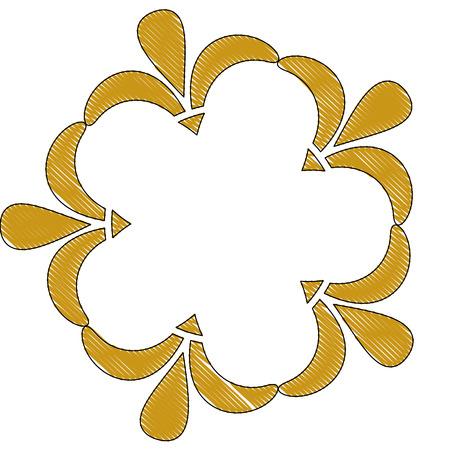 art deco floral vintage ornament classic motif
