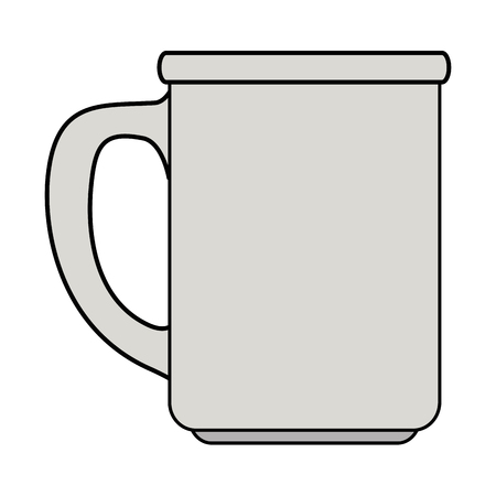 coffee cup isolated icon vector illustration design Illusztráció