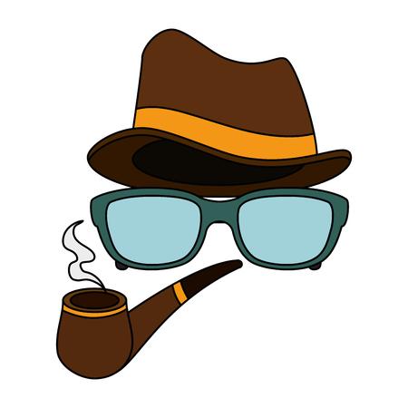 картинка смайлик в очках шляпе и сигаретой в зубах показывали вам