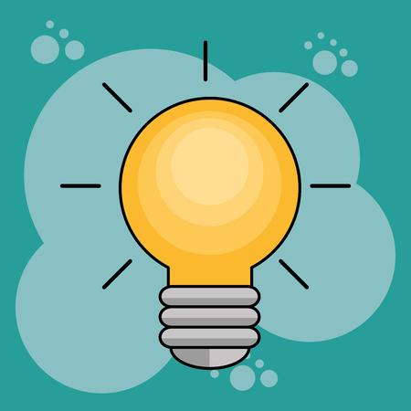 bulb creative ideas concept vector illustration design Stok Fotoğraf - 101466629