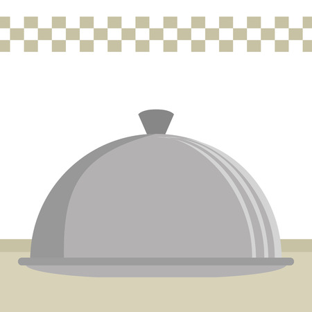 kitchen tray server utensil icon vector illustration design 일러스트
