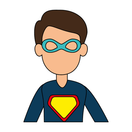 super best dad character vector illustration design Stock Illustratie