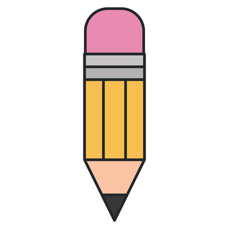 pencil write isolated icon vector illustration design  イラスト・ベクター素材