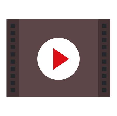 media player interface icon vector illustration design 일러스트