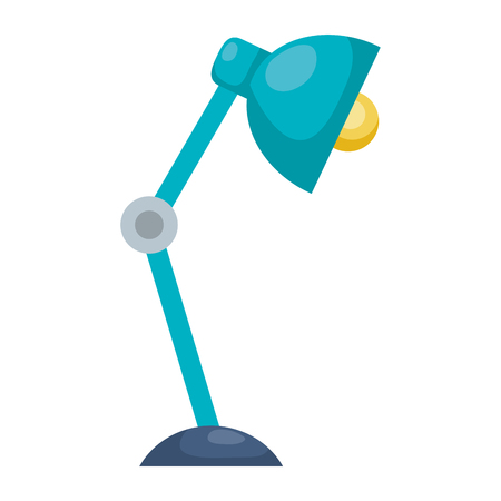 office desk lamp icon vector illustration design Ilustracja