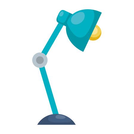office desk lamp icon vector illustration design Illustration