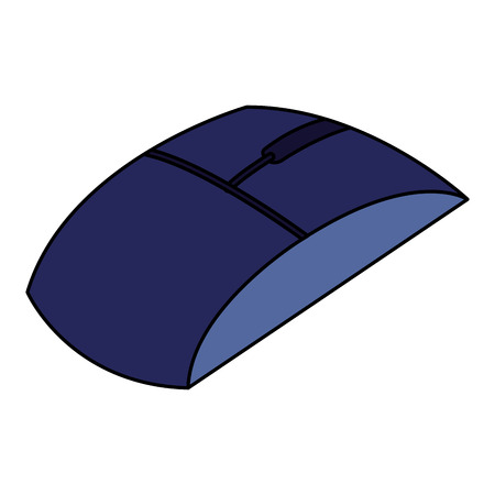 computer mouse isometric icon vector illustration design