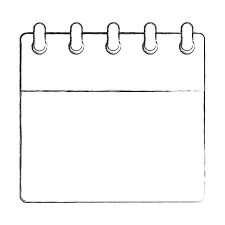 calendar plan reminder date image vector illustration sketch Illustration