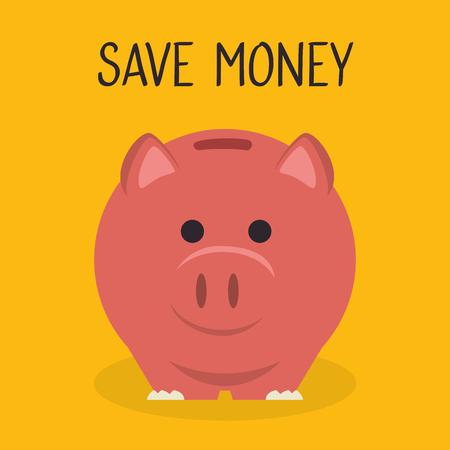 piggy savings financial icon vector illustration design