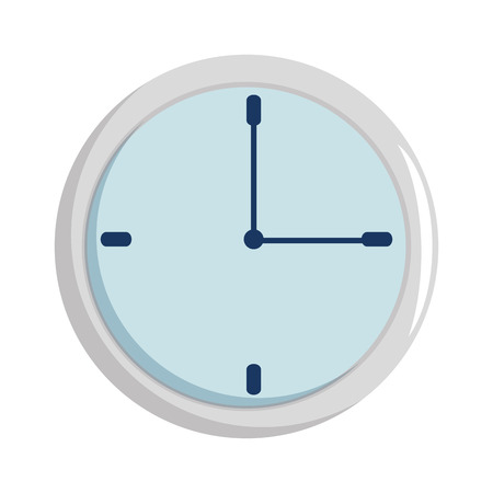 time clock isolated icon vector illustration design 版權商用圖片 - 101925284