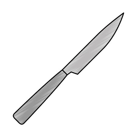 knife cutlery tool icon vector illustration design
