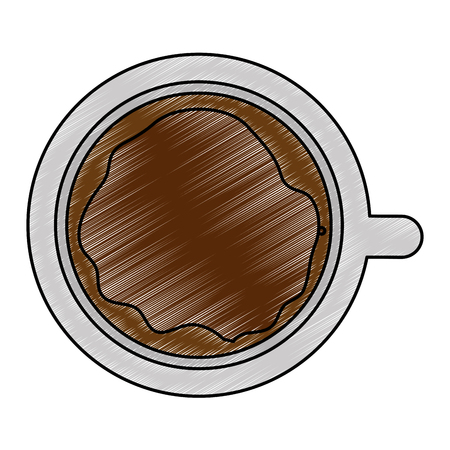 coffee cup isolated icon vector illustration design Imagens - 101925595