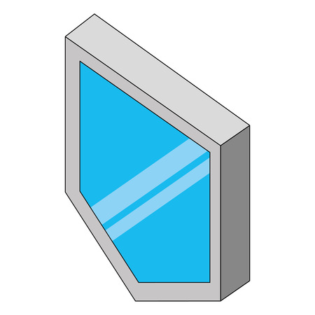 security shield isometric icon vector illustration design