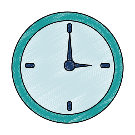 time clock isolated icon vector illustration design 版權商用圖片 - 102027751