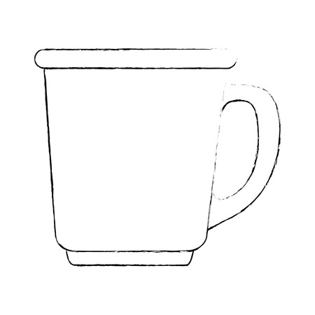 coffee cup isolated icon vector illustration design Stock Vector - 102109510