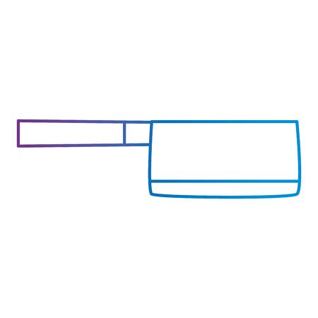 ax kitchen isolated icon vector illustration design Ilustrace