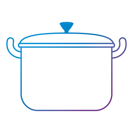 kitchen pot isolated icon vector illustration design Ilustrace