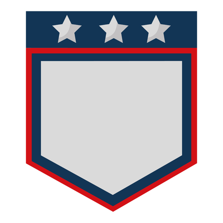 united stated of america shield vector illustration design 일러스트