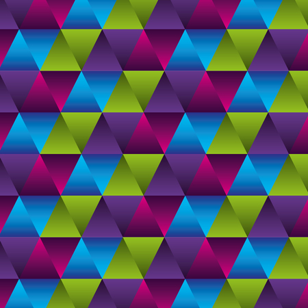 geometric figures and colors workart background vector illustration design