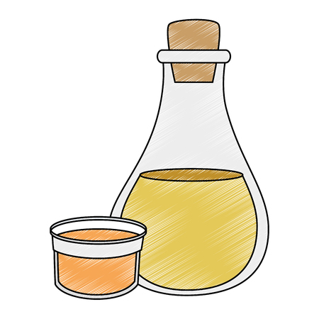 olive oil bottle icon vector illustration design Stock Vector - 102021274
