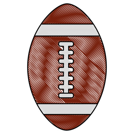american football sport icon vector illustration design Illustration