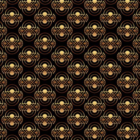 art deco golden elegant decoration abstract texture pattern vector illustration