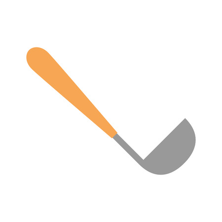 kitchen ladle isolated icon vector illustration design Illustration