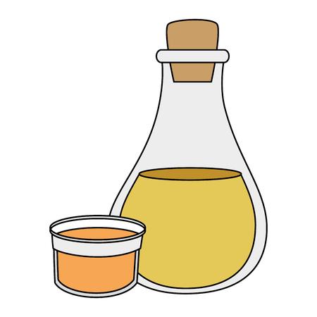 olive oil bottle icon vector illustration design
