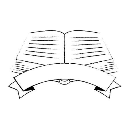 sacred book religious icon vector illustration design Imagens - 102030674