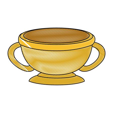 arabic dish ceremonial icon vector illustration design