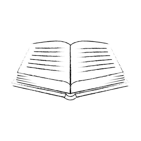 sacred book religious icon vector illustration design Imagens - 102030751