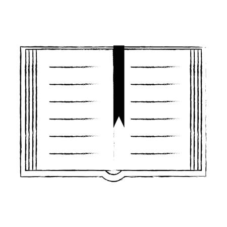 sacred book religious icon vector illustration design