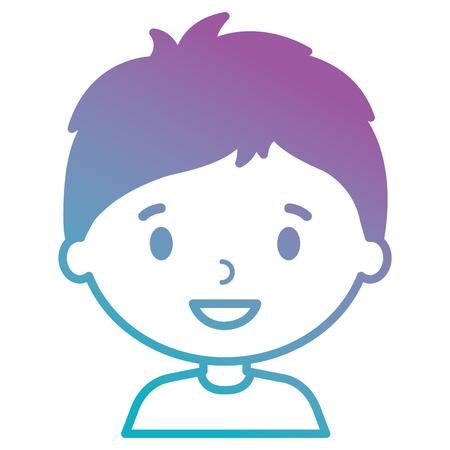 little boy son character vector illustration design Stock Vector - 102065624
