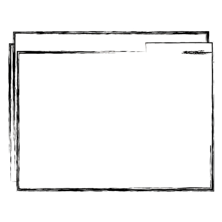 file folder isolated icon vector illustration design Imagens - 102067155