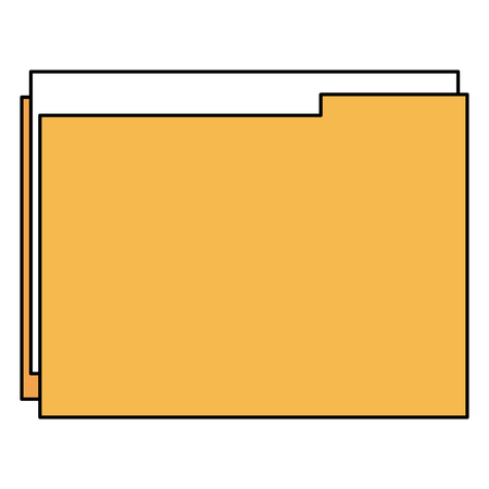 file folder isolated icon vector illustration design Banque d'images - 102354047