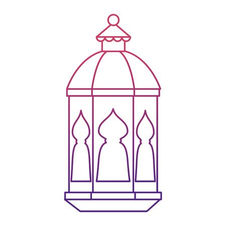 lamp hanging decoration ramadan kareem celebration vector illustration 向量圖像
