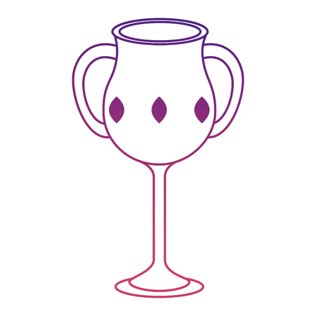sacred chalice cup icon vector illustration design Stock Illustratie